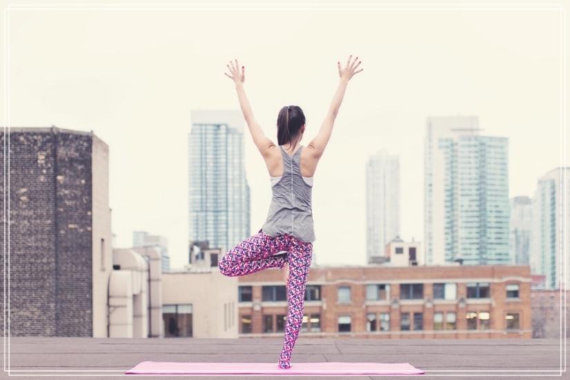 Yoga, un buen ejercicio.
