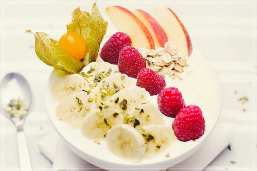 Fruta-yogur